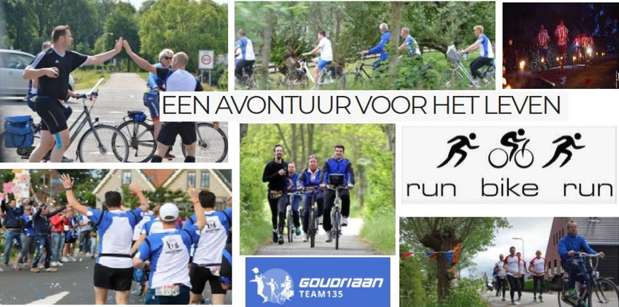 Run-Bike-Run met Team 135 Goudriaan